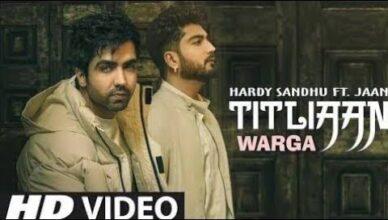Titliaan Warga   Harrdy Sandhu ft Jaani   New Hardy Sandhu Punjabi Song 2021